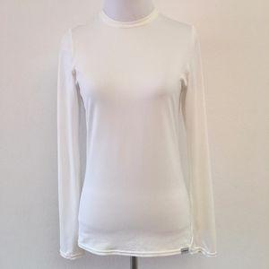 Patagonia Women's White Base Layer Top Size XS